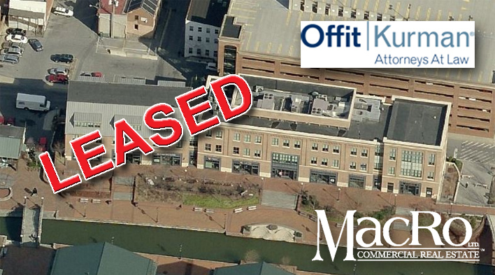 MacRo Leases Class A Office Space in Downtown Frederick Maryland